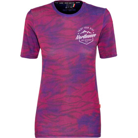 Northwave Enduro MTB Maillot manches courtes Femme, mineral purple